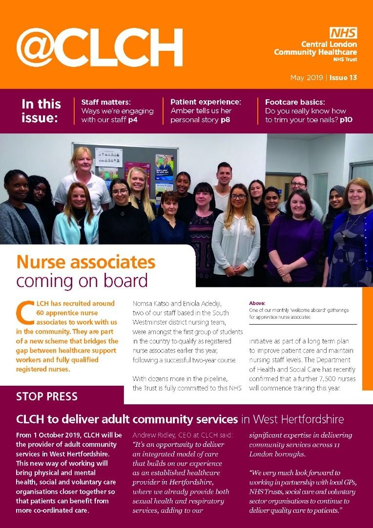 Spring edition of @CLCH now available