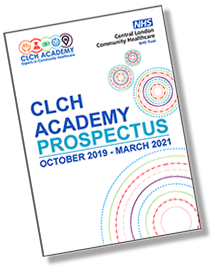 Illustration of CLCH Academy Prospectus, October 2019 - March 2021